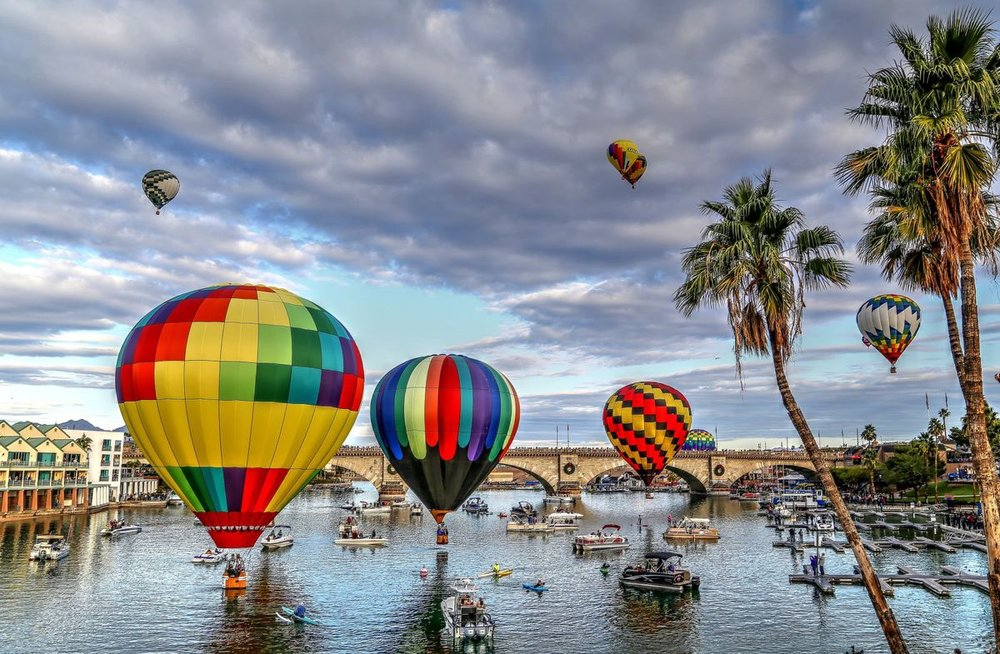 Lake Havasu Balloon Fest and Fair