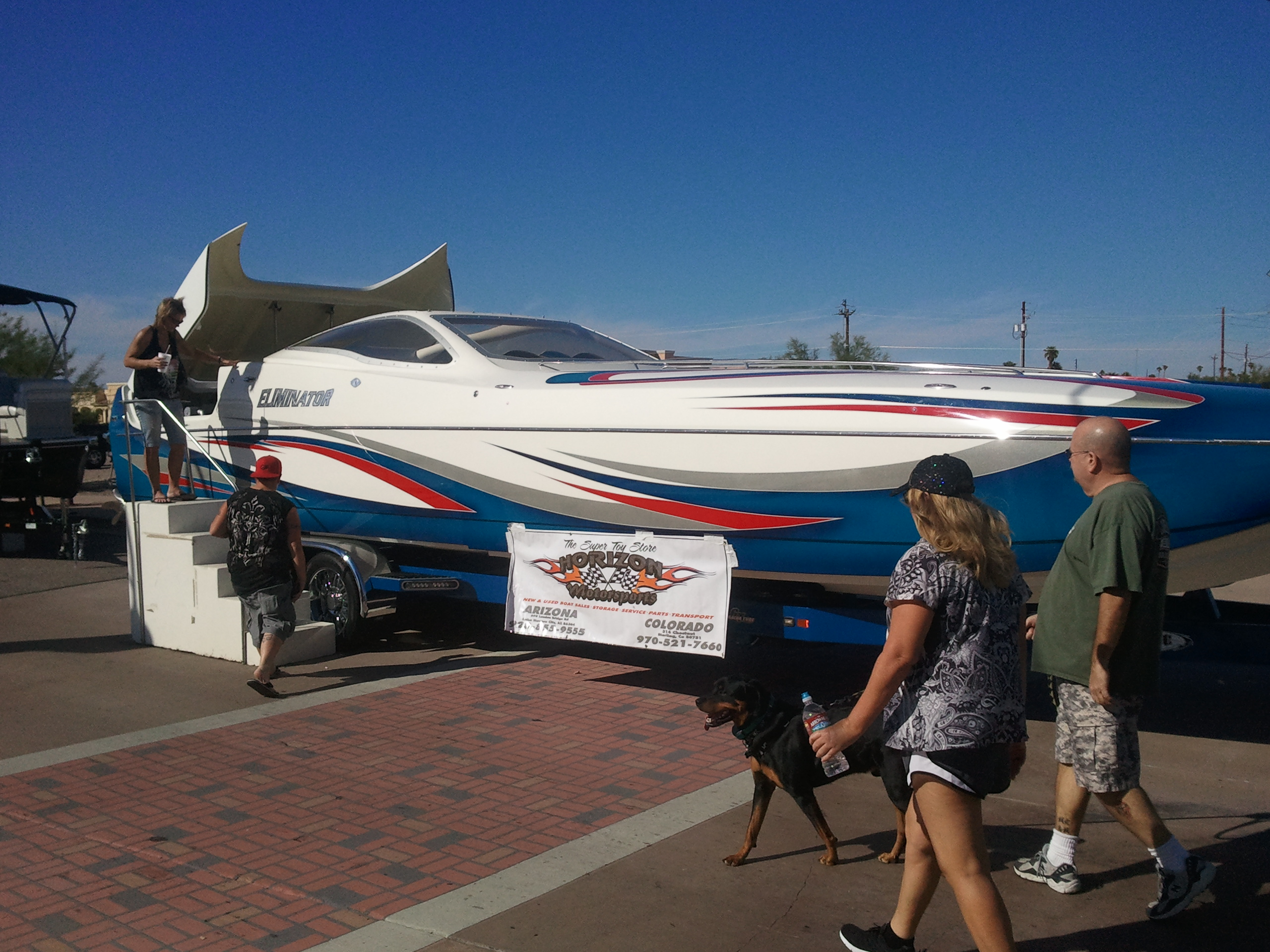 Big Boys Toys on Main lake havasu