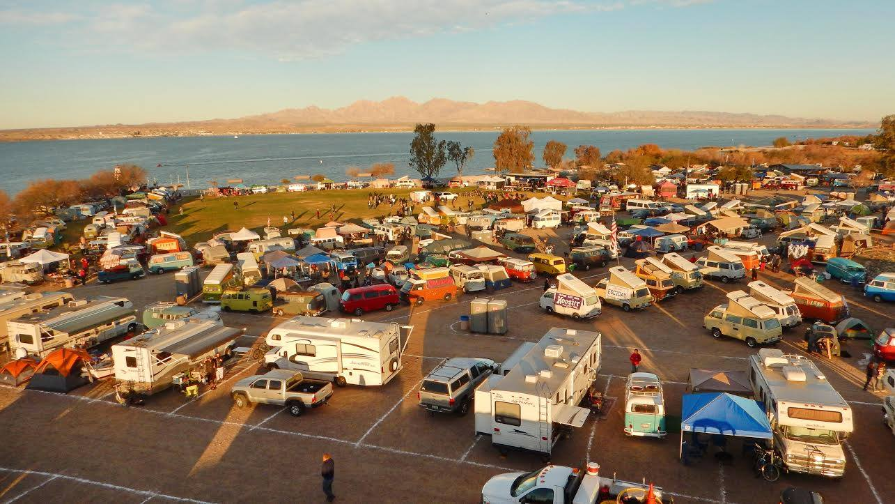 22nd Annual Buses By The Bridge In Lake Havasu