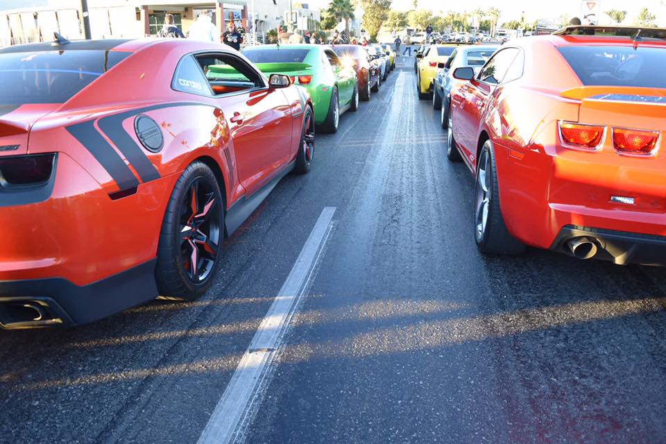 Camaros on the Bridge 2018