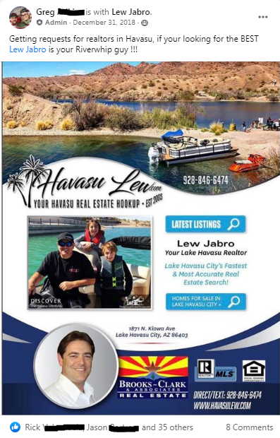 Havasu Lew reviews in Lake Havasu
