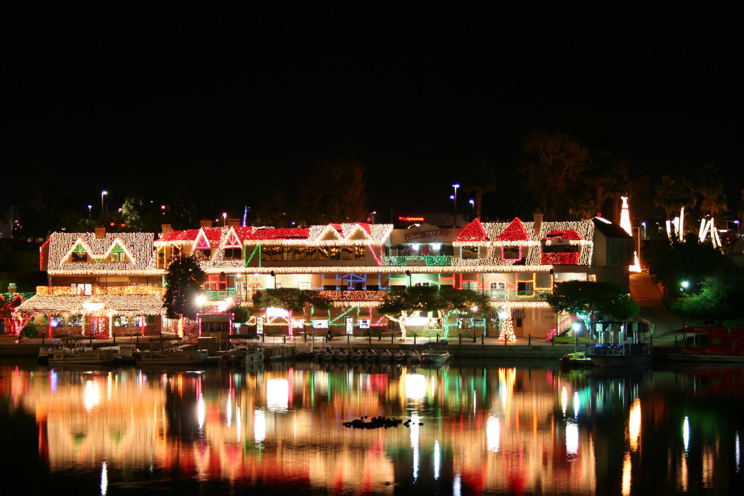 Lake Havasu London Bridge Christmas Lights 2019