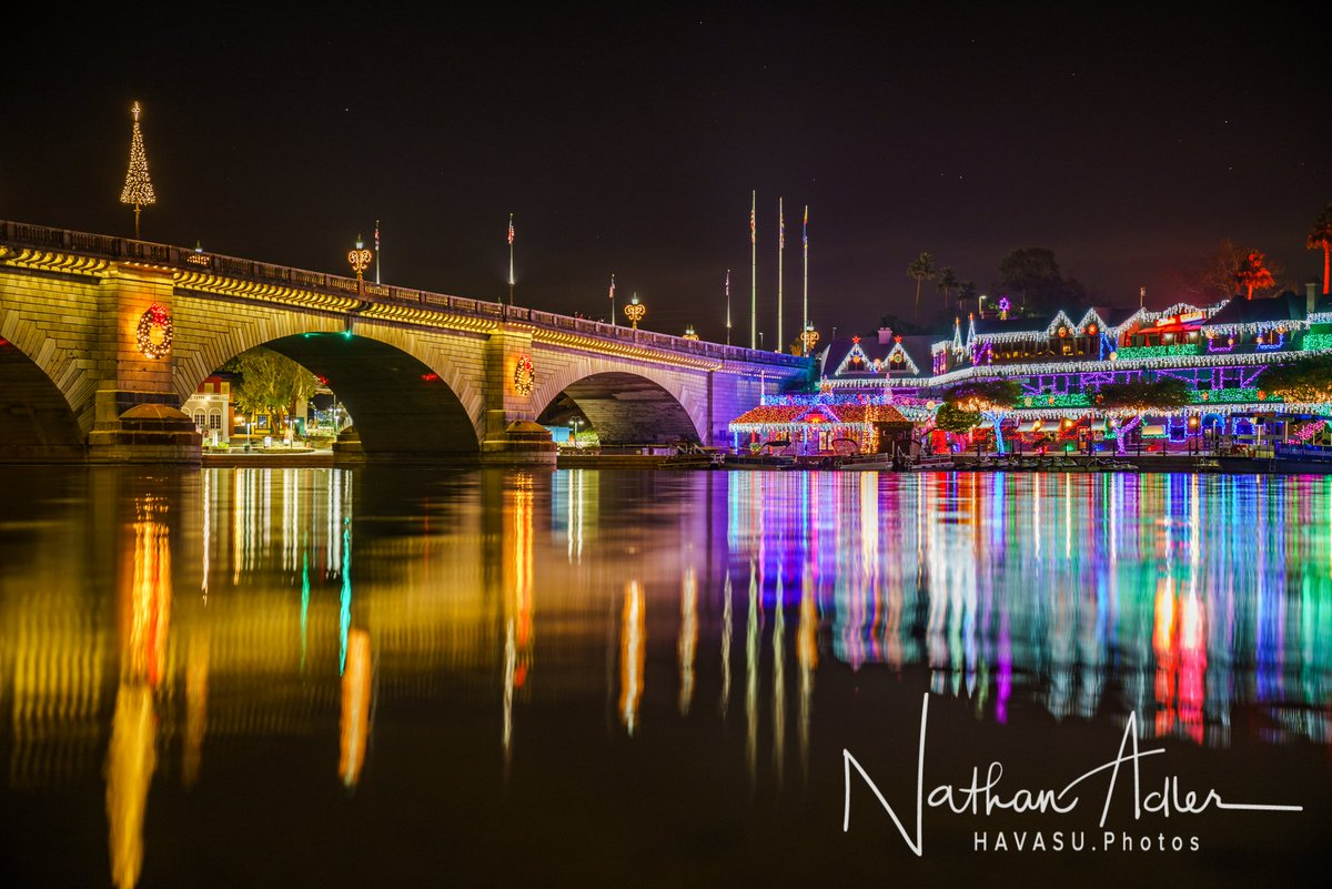Lake Havasu Festival of Lights at the London Bridge