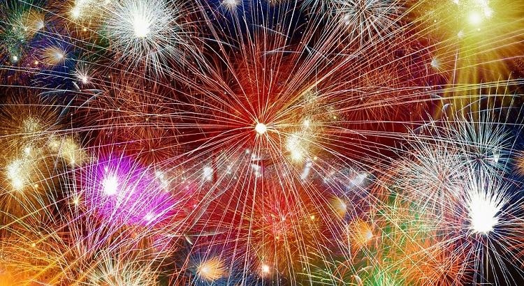 4th of July fireworks in Lake Havasu