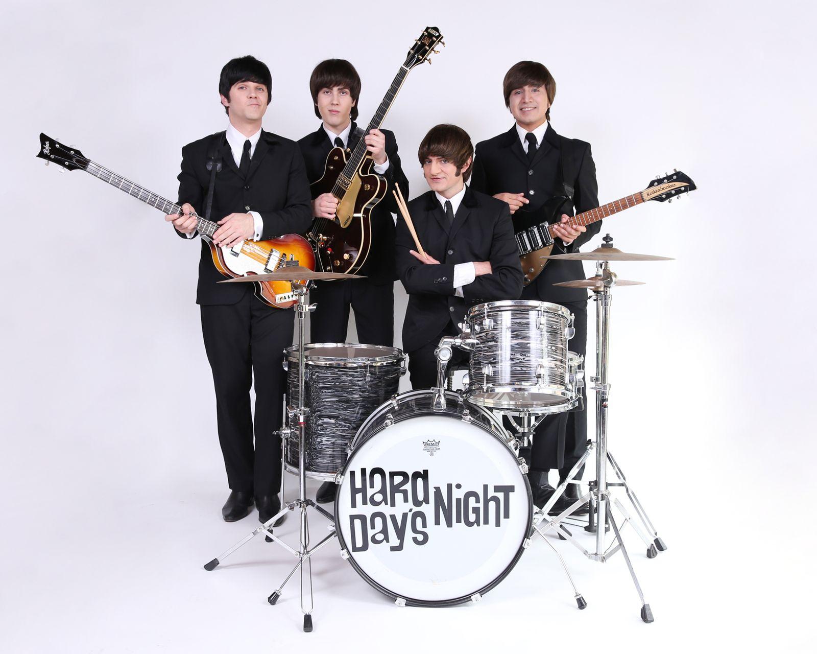 Hard Days Night Rolling Stone tribute band