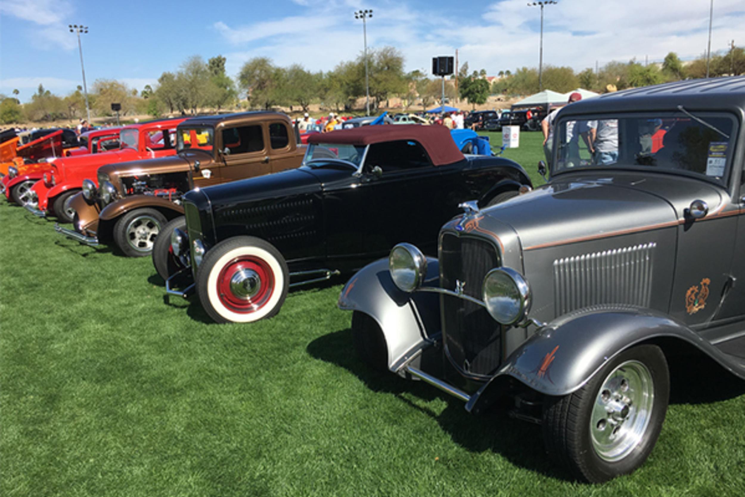 Havasu Deuces Car Show Havasu