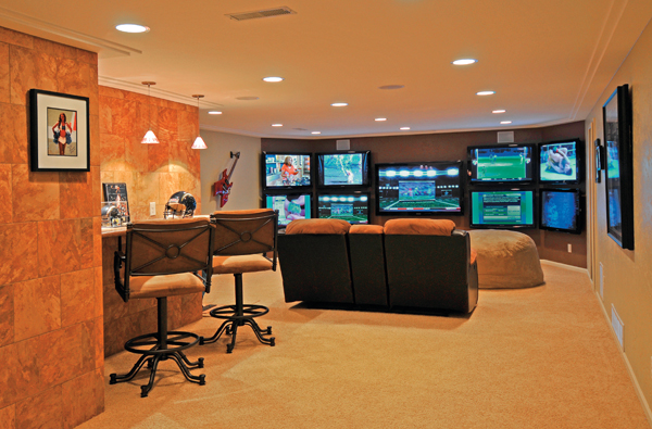 Amazing Man Cave Design Ideas 1