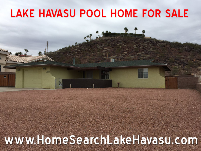 Lake Havasu homes for sale with pool and shop