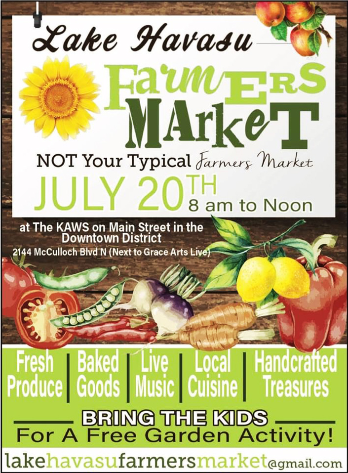 Lake Havasu farmers market 2019