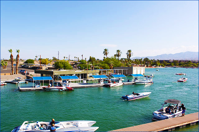 Lake Havasu Marina launch ramp