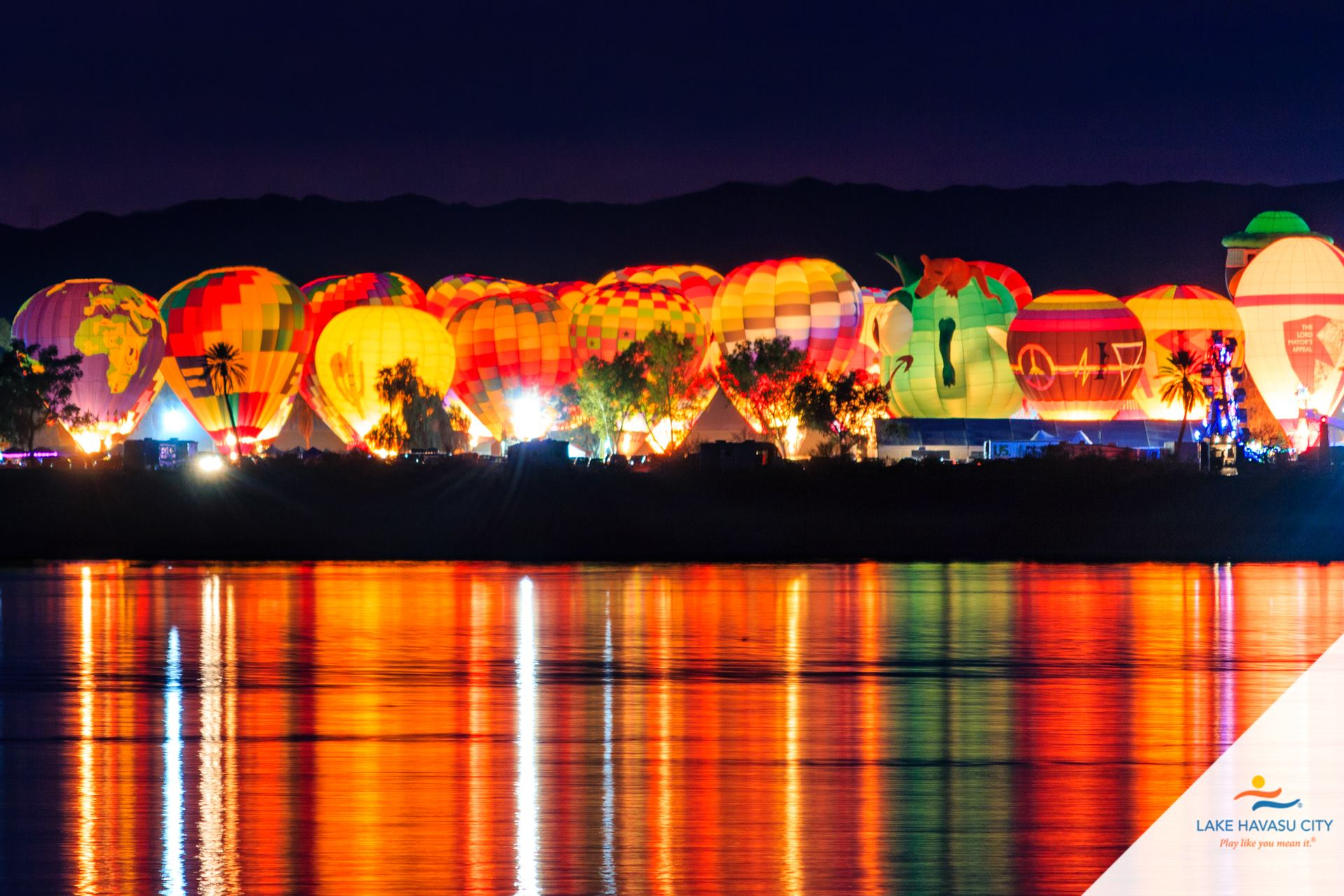 Lake Havasu balloon fest 2021
