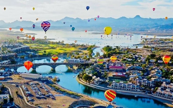 Lake Havasu balloon fest and fair 2020