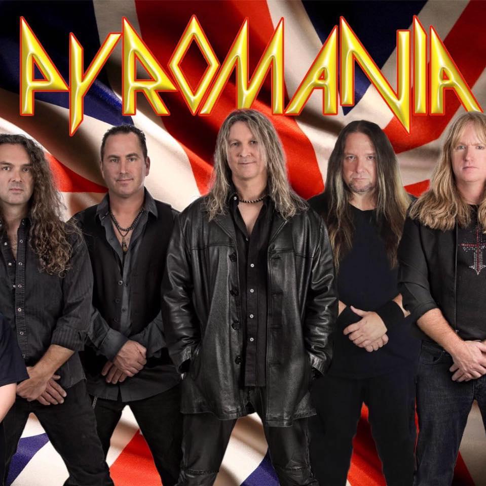 Pyromania - Def Leppard tribute band