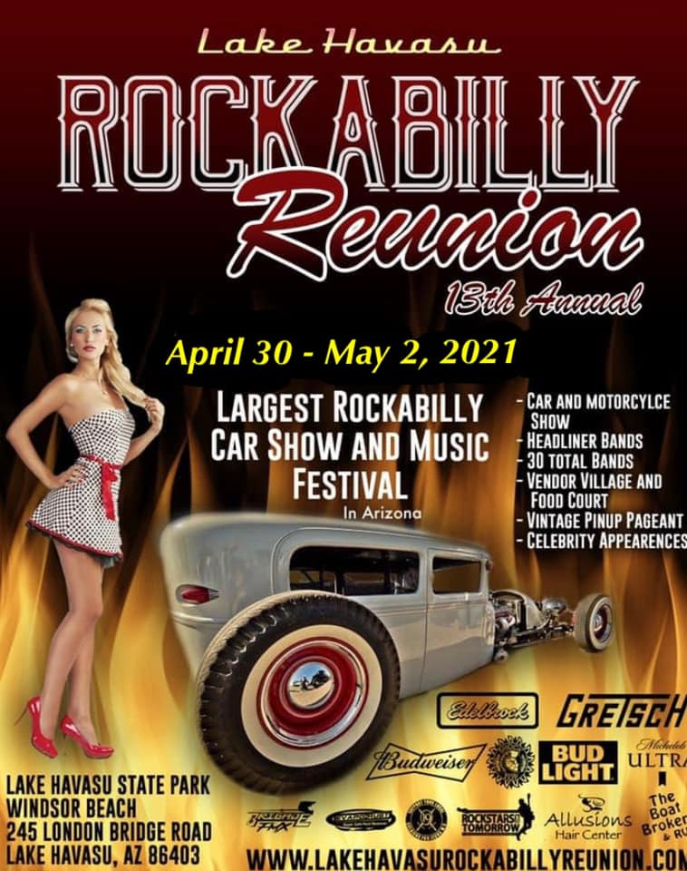 13th annual rockabilly reunion lake havasu