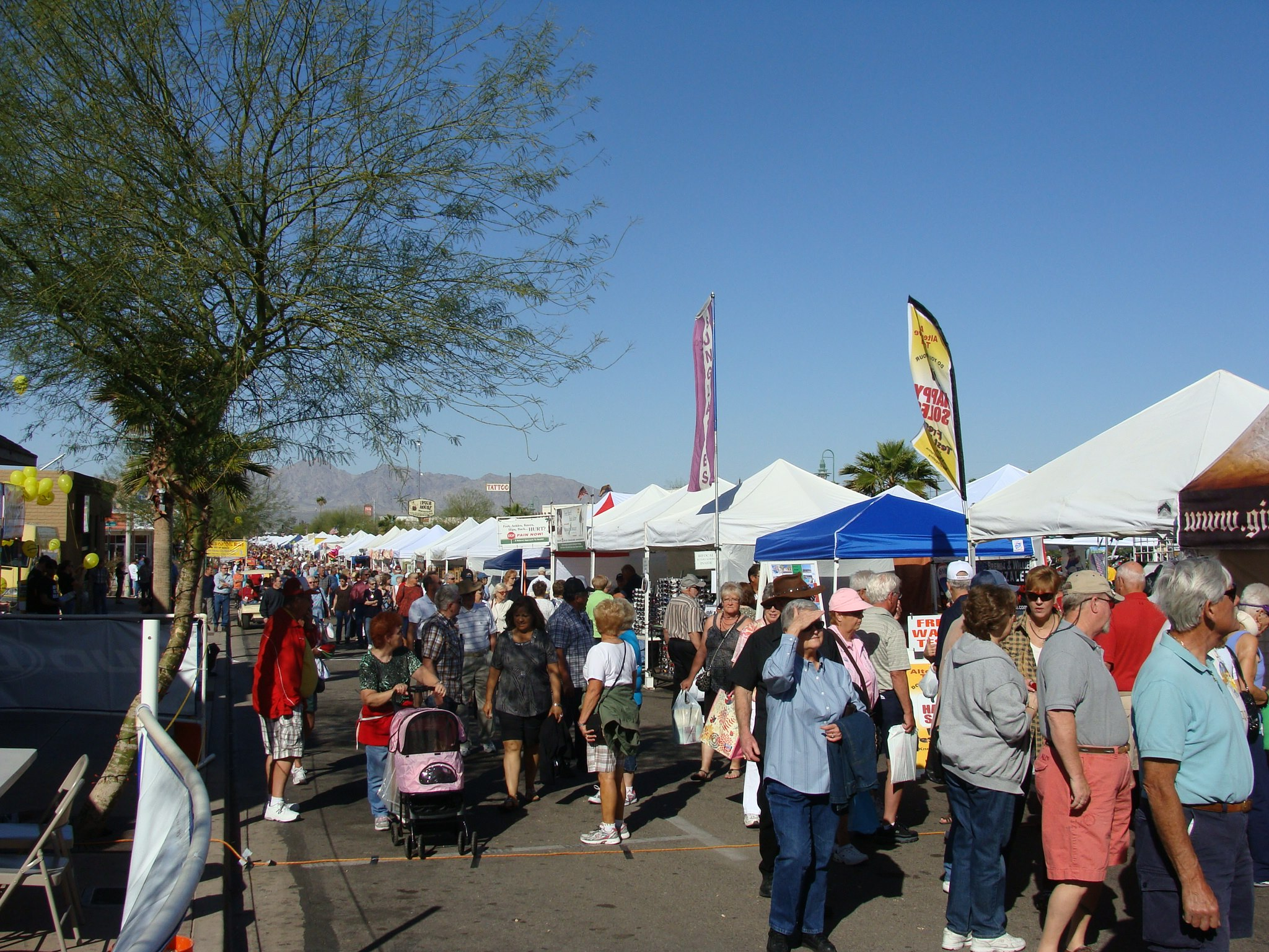 Winterfest street fair havasu