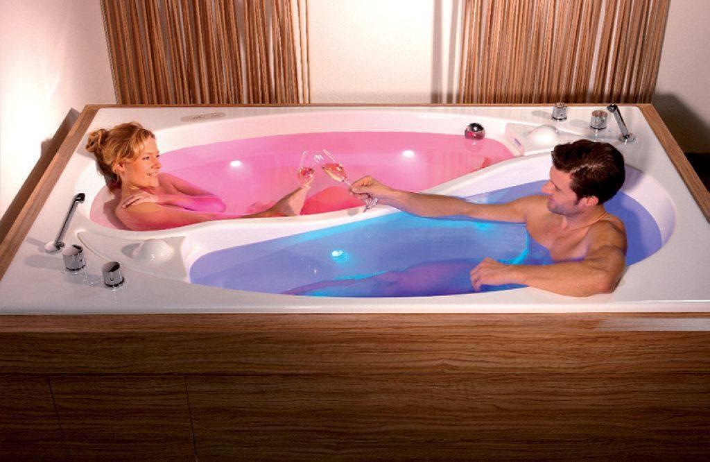 Ying Yang bathtub for two