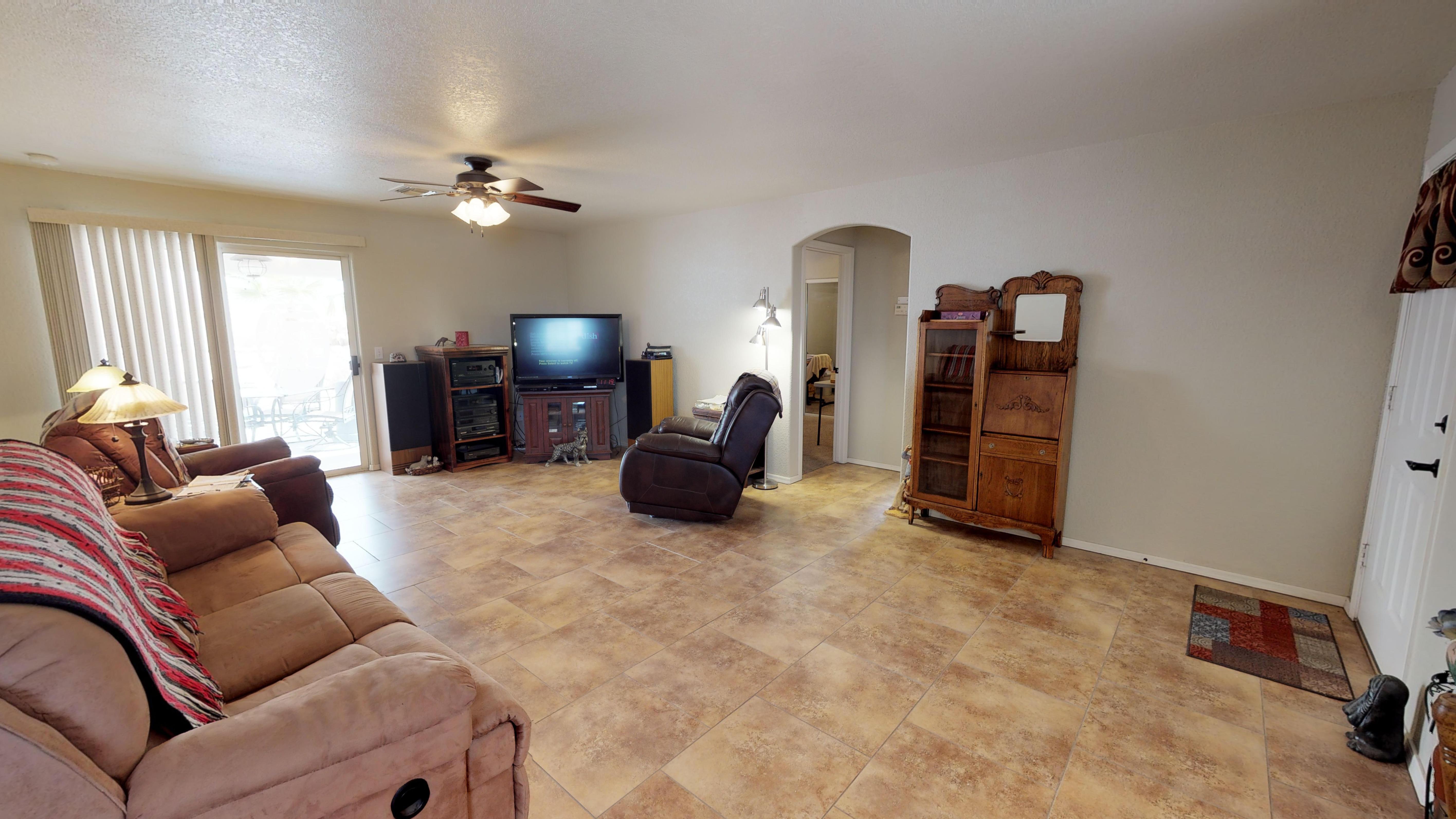 The Living Room of 3413 Landau Lane