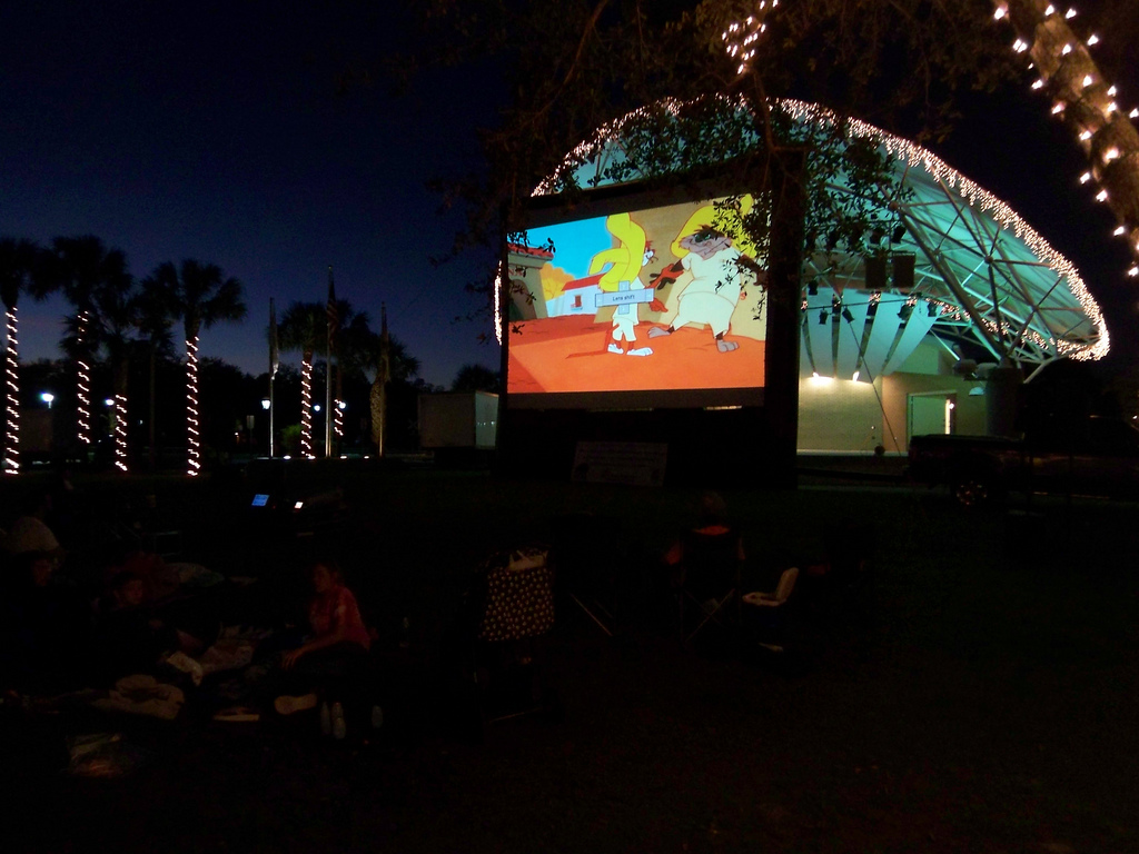 Bonita Springs movies in the aprk