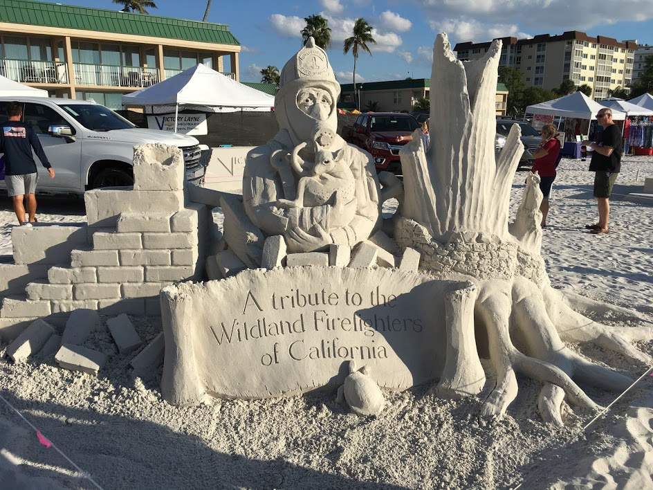 Sand Sculpting Fort Myers Beach