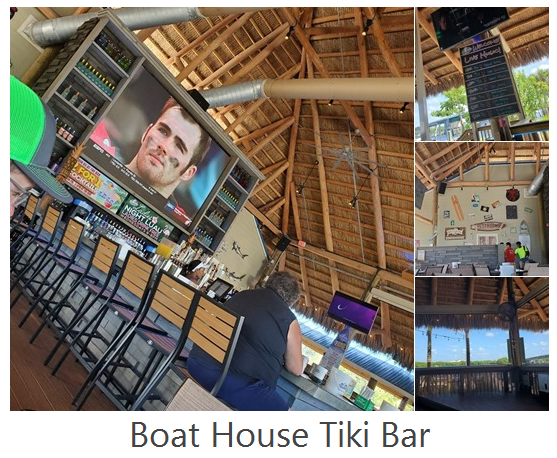 Boat House Tiki Bar and Grill