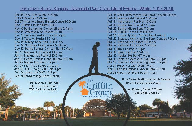 Downtown Bonita Springs Riverside Park Events