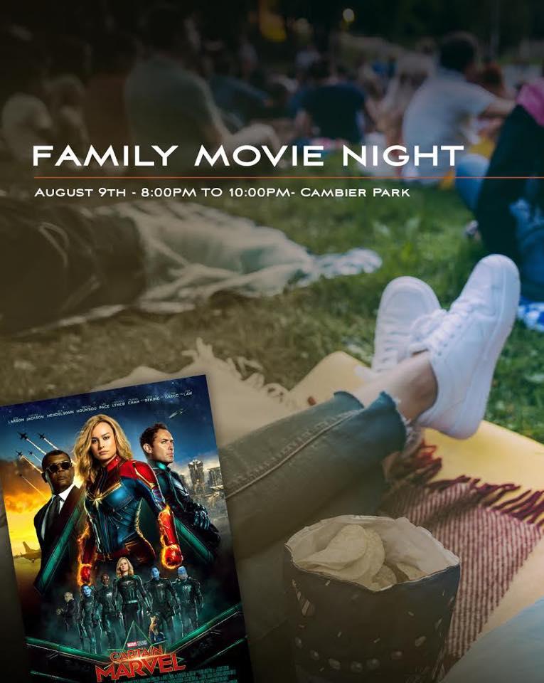 Cambier Park Movie Night Naples