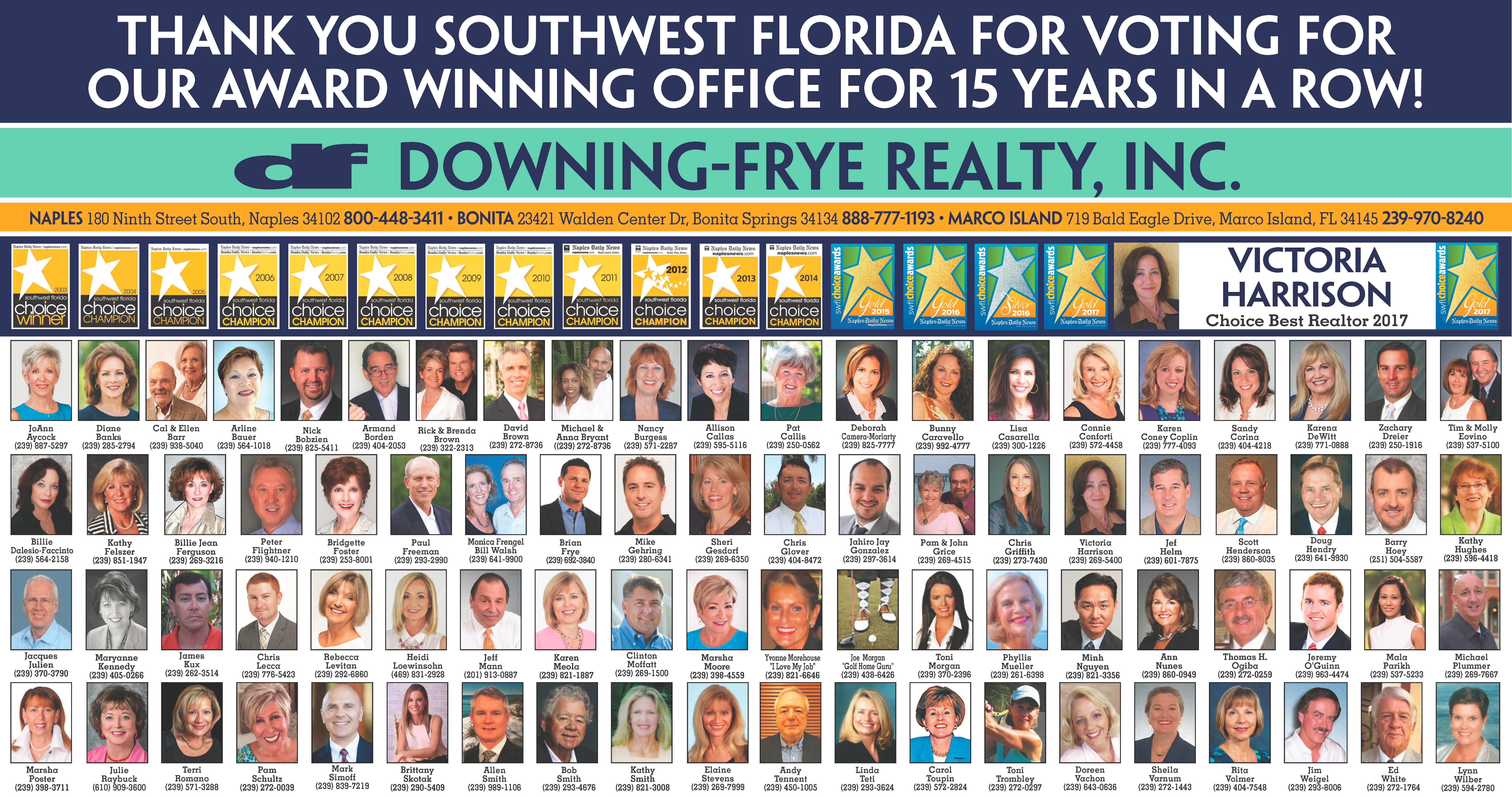 Downing Frye Bonita Springs Florida