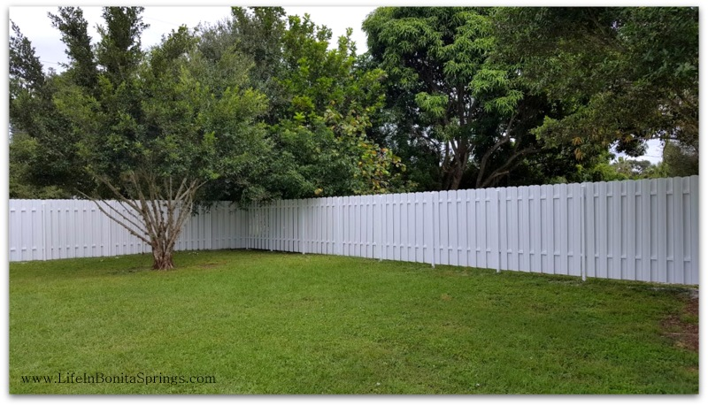 Installing a Fence in Bonita Springs