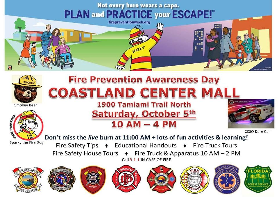 Fire Prevention Day naples