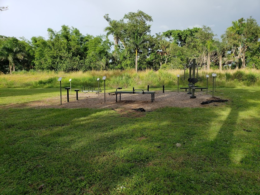 Island Park Fitness Station