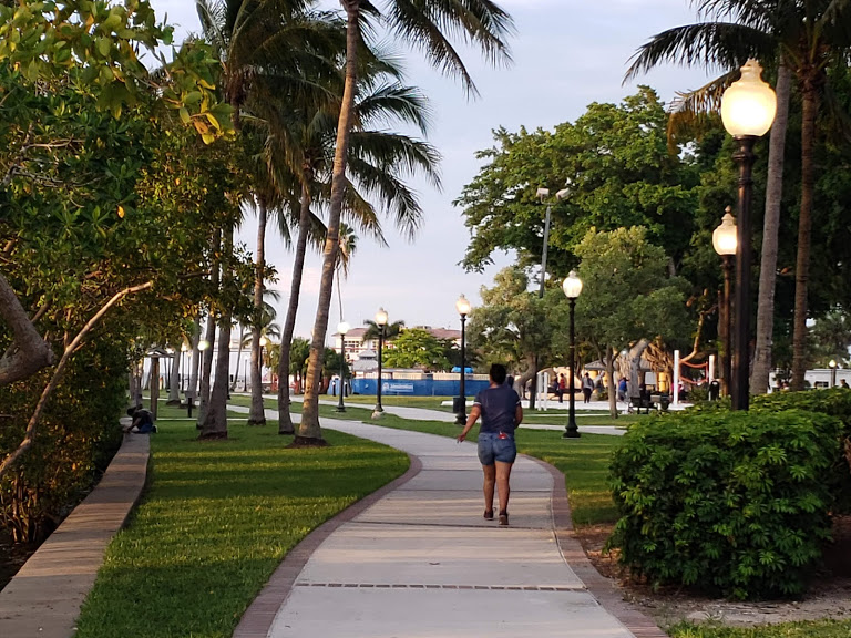 Fort Myers River District Walking Path