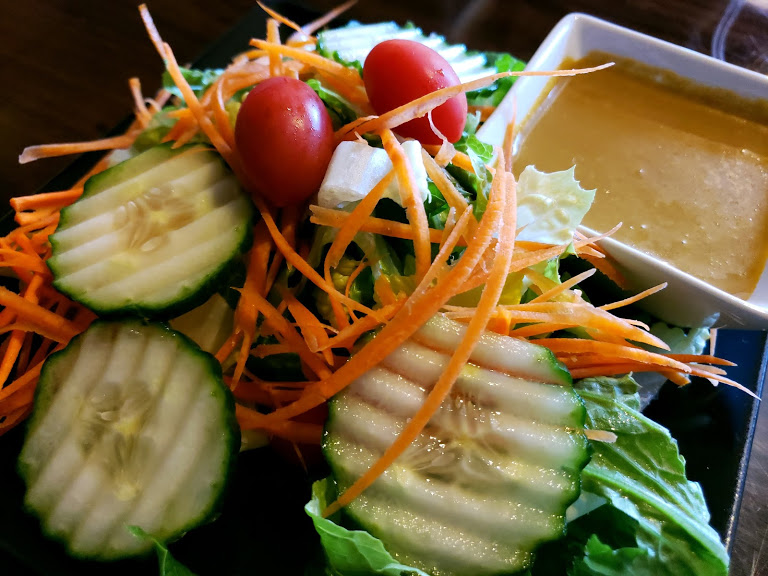 9 thai sushi ginger salad
