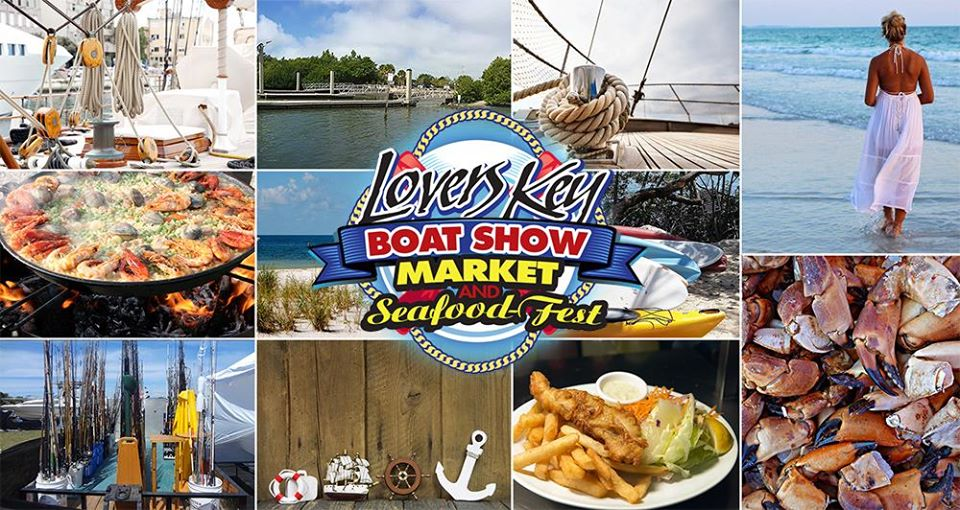 Lover's Key Boat Show Seafood Festival