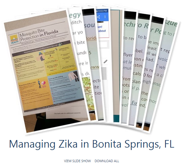 Managing Zika in Bonita Springs Florida