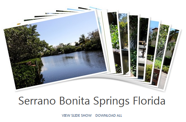 Bonita Springs Serrano Community Album