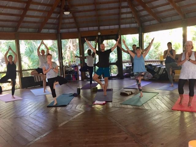 Yoga at Happehatchee