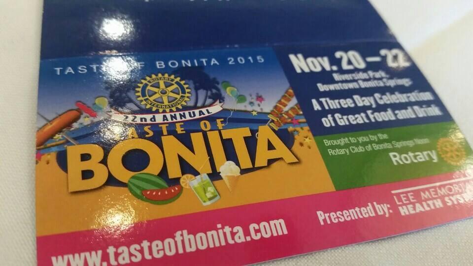 Taste of Bonita 2015