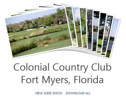 Colonial Country Club Photo Album