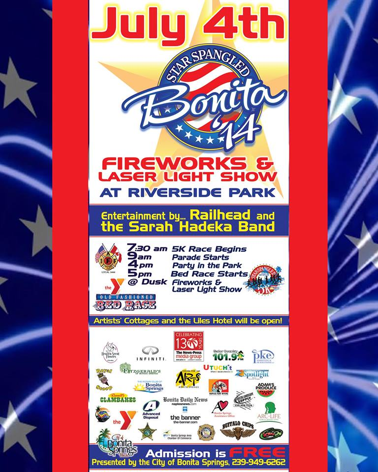 Bonita Springs July 4th Event 2014