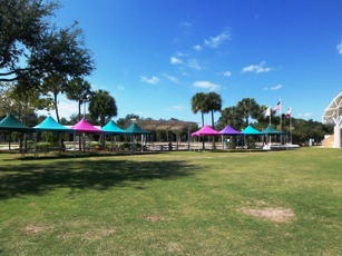 Riverside Park Tents