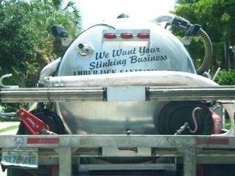 Bonita Springs Septic Truck