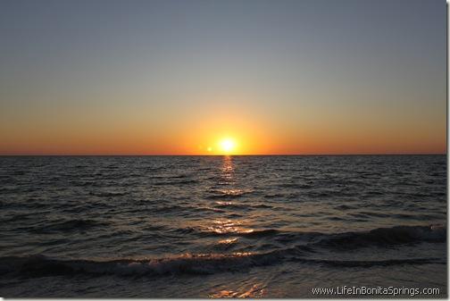Bonita Beach Sunset