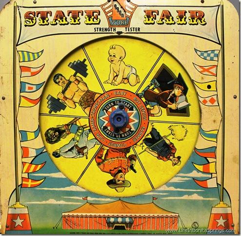 State Fair Antique Pin