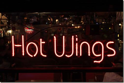 Hot Wings  Neon Sign Bonita Springs