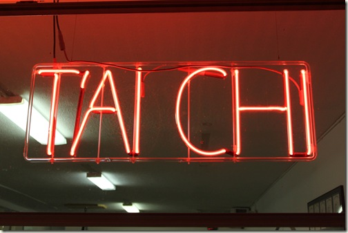 Tai Chi Neon Sign Bonita Springs
