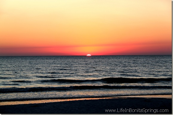 Bonita Beach Access 9 Sunset