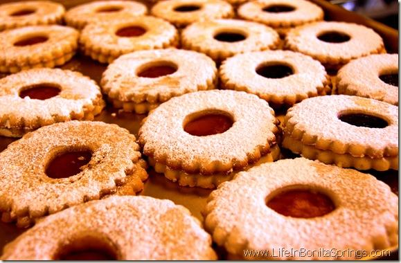 Linzer Cookies Estero Florida