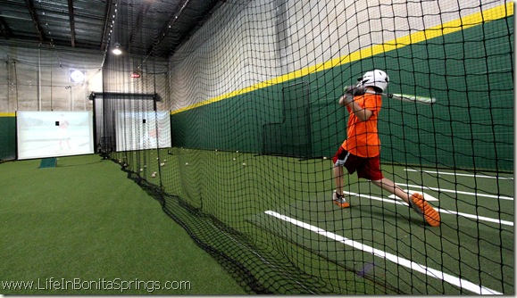 Batting cages in bonita springs florida things to do for Design indoor baseball facility