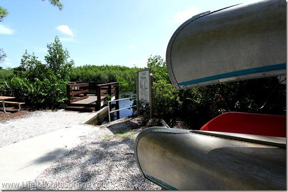 Spring Creek Canoe Launch Bonita Bay