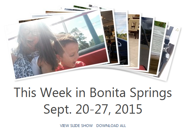 Bonita Springs Weekly Wrap